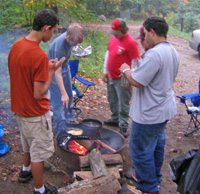 Campout at Franconia Notch