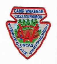 Camp Wakenah patch