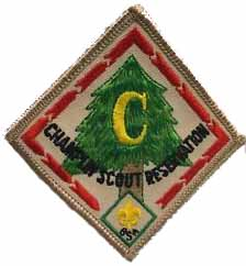 Champlin Scout Reservation patch