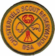 Chesterfield Scout Reservation Patch
