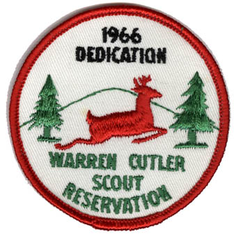 Cutler Scout Reservation patch