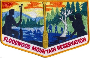 Floodwood Mountain Scout Reservation  pocket flap