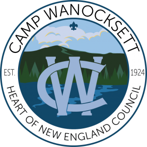 Camp Wanocksett emblem